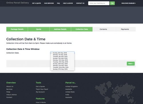 OPD - Collection Date & Time